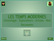 Les Temps Modernes : chronologie et documents