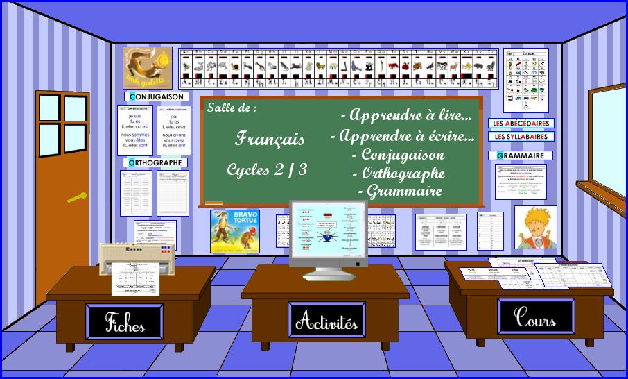 Soutien scolaire en français